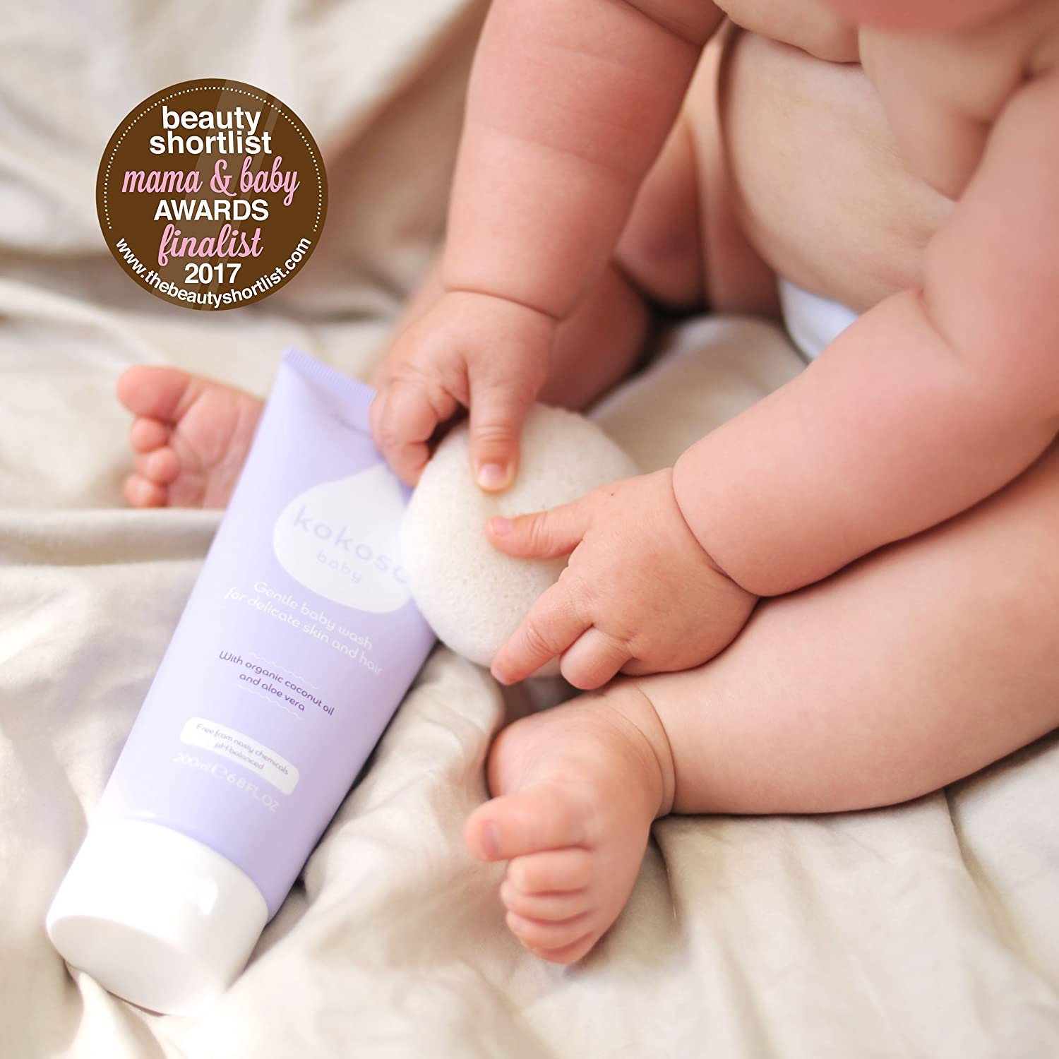 Kokoso Baby Wash Organic Natural Delicate For Skin Hair Cussons Body Mild Gentle 400ml Shampoo Softly Scented 200ml