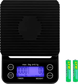 Apexstone Batteries Included Coffee Scale