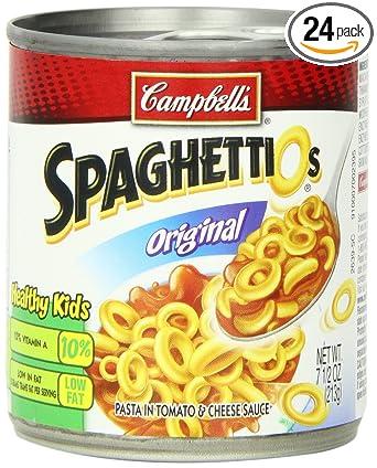SpaghettiOs, pasta: Amazon.com: Grocery & Gourmet Food