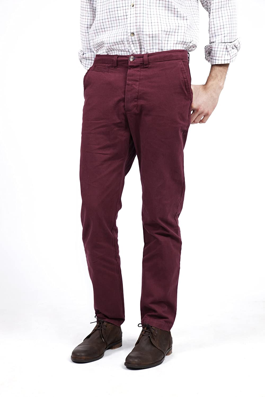 Amazon.com: VEDONEIRE pantalones de sarga de algodón para ...