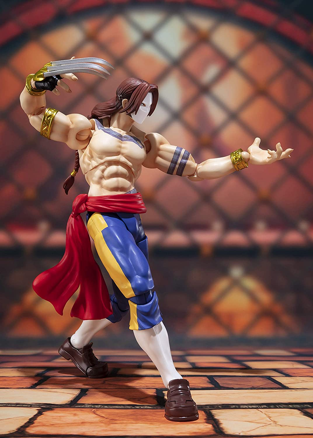 Figuarts Vega Street Fighter Action Figure Tamashii Nations Bandai S.H