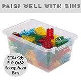 ECR4Kids Birch 12 Cubbie Tray Cabinet