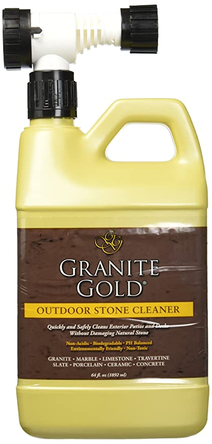 Granite Gold Outdoor Stone Cleaner   Deep Cleans Stone And Concrete Patios,  Decks, Driveways