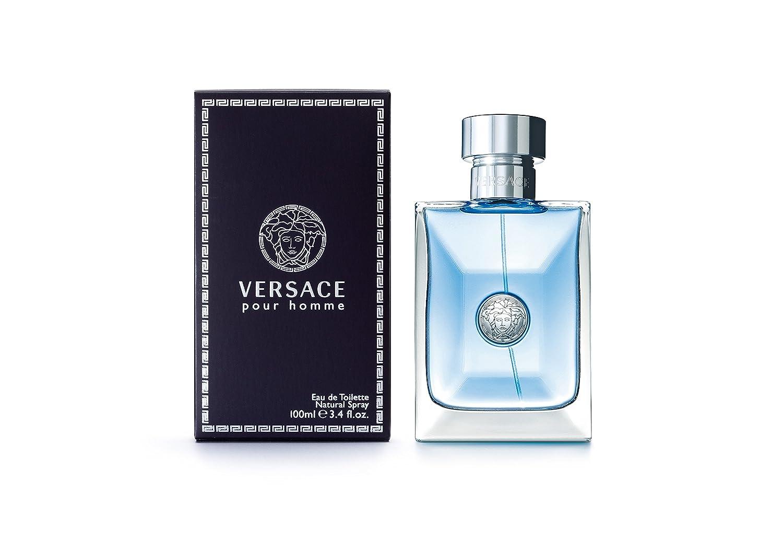 6600ed599 VERSACE POUR HOMME 100ml edt vapo  Amazon.fr  Beauté et Parfum