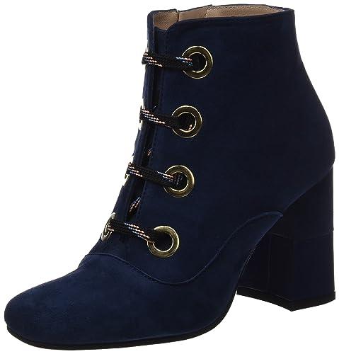 lodi Olivar, Botines para Mujer, Azul (Ante River), 37 EU: Amazon.es: Zapatos y complementos