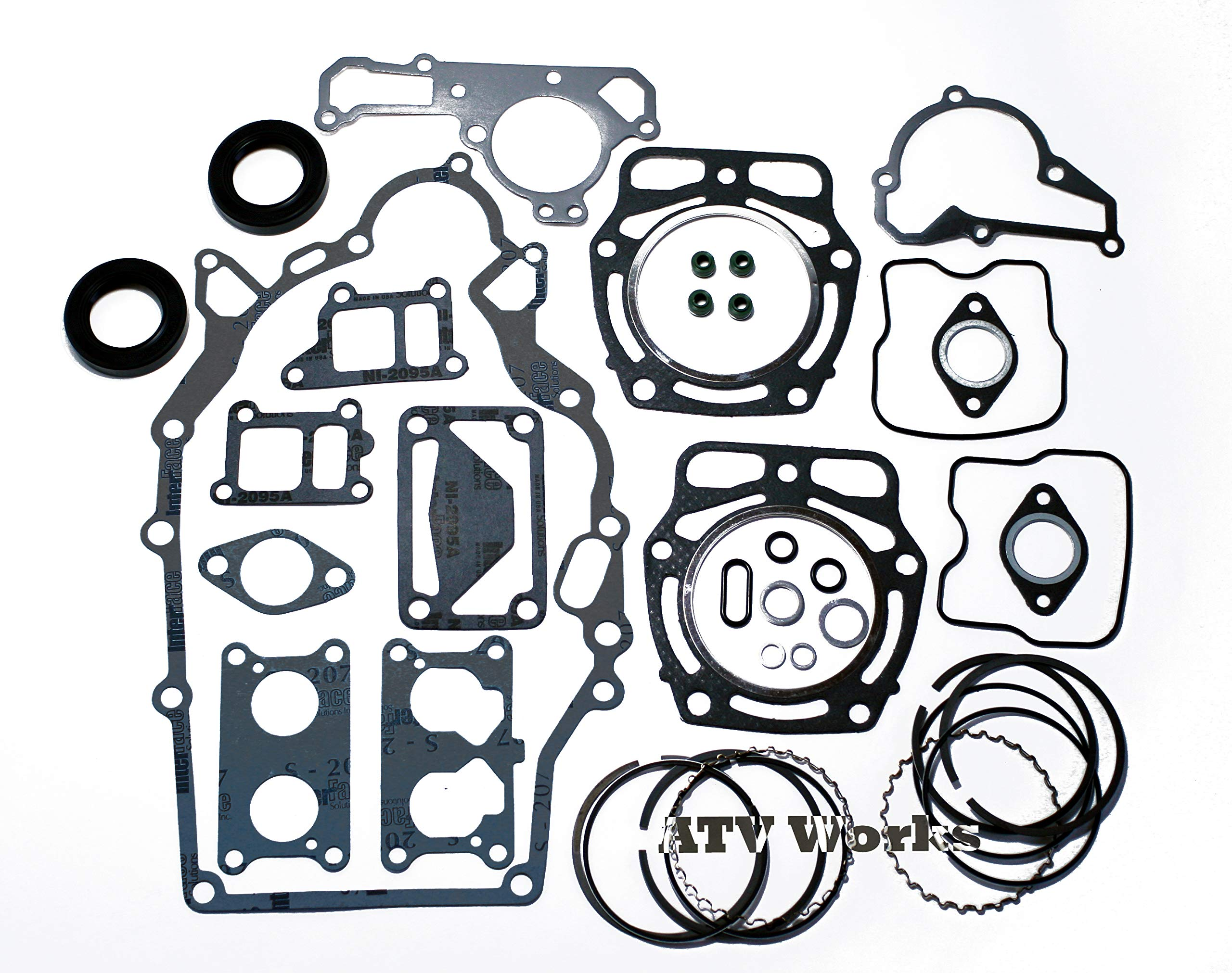 Kawasaki Mule KAF620 Engine Rebuild Kit w/Rings by ATVWorks