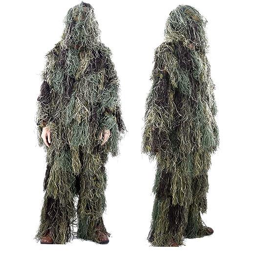 Ghillie trajes, al aire libre 3d diseño de serpiente traje de ...