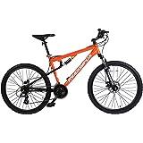 Sprint Men's CARRERA Hardtail Mountain Bike 26 inch wheels, Alloy