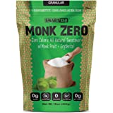 Monk Zero - Monk Fruit Sweetener, Non-Glycemic, Keto Approved, Zero Calories, 1:1 Sugar Substitute (Granular, 16oz)