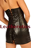 Leather Mini Dress Erotic Sexy Top MD20 Fetish