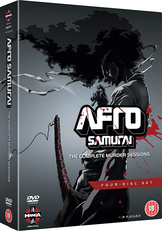 Afro Samurai - Complete Murder Sessions DVD Reino Unido ...
