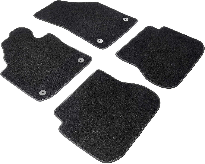 Walser Nadelfilz Velours Premium Fußmatten Kompatibel Mit Vw Caddy Iii 03 2004 Heute Caddy Iv 06 2015 Heute Vorne Auto