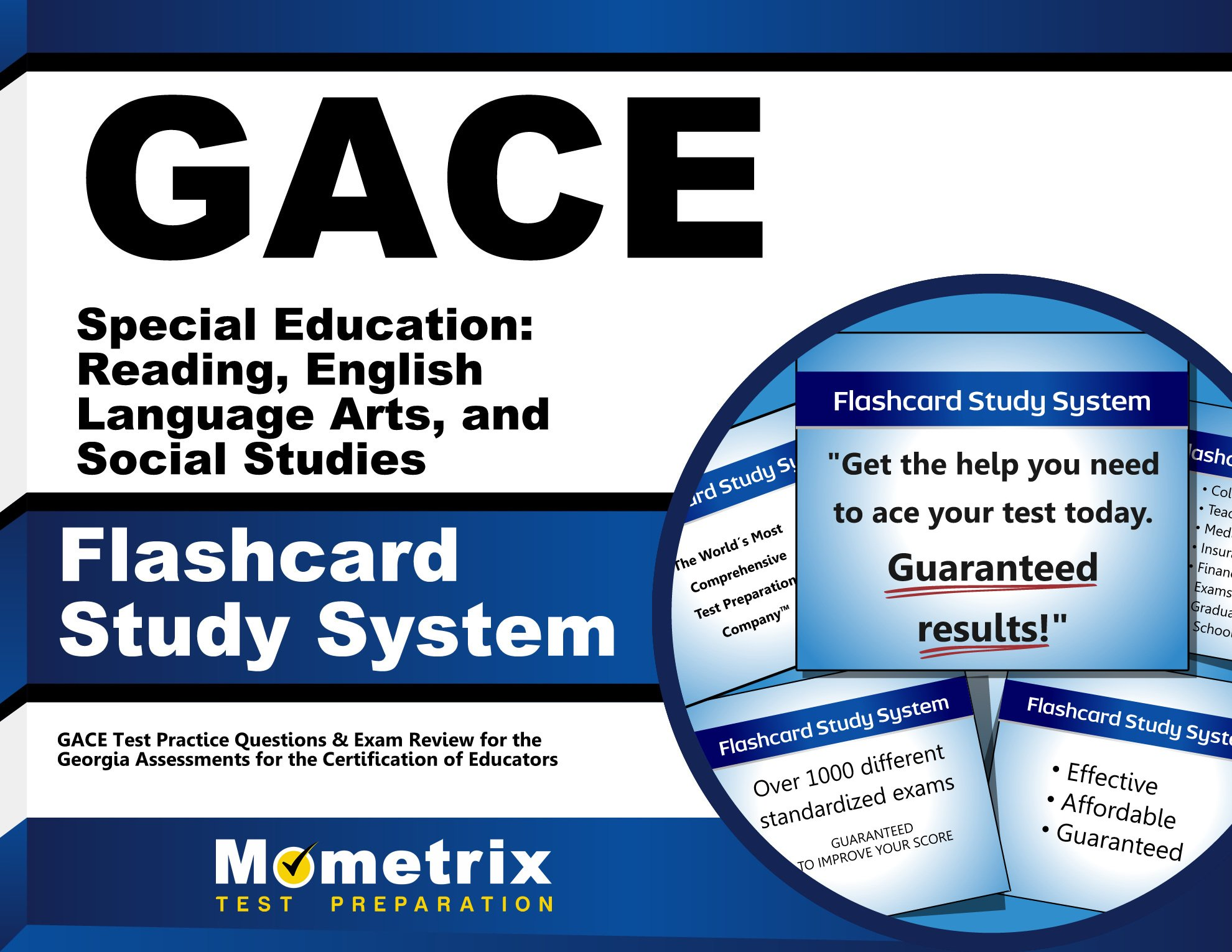 GACE Special Education: Reading, English Language Arts, and Social Studies Flashcard Study System: GACE Test Practice Questions & Exam Review for the ... for the Certification of Educators (Cards) by Mometrix Media LLC
