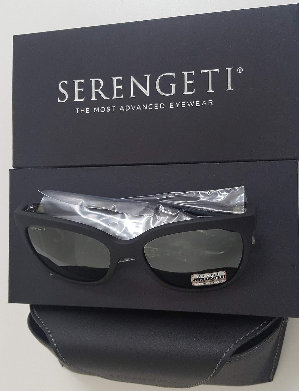 Serengeti Agata Matte Black Mineral Polarized 8779 Pro-Motion Distributing Direct