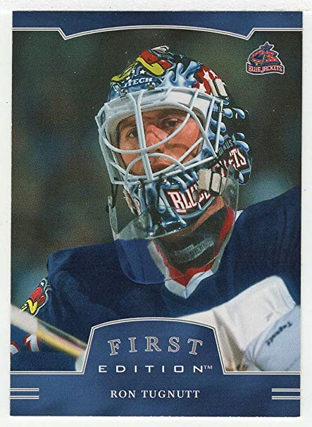 6b517f398 Amazon.com   Ron Tugnutt (Hockey Card) 2002-03 Be A Player First Edition    107 NM M   Everything Else
