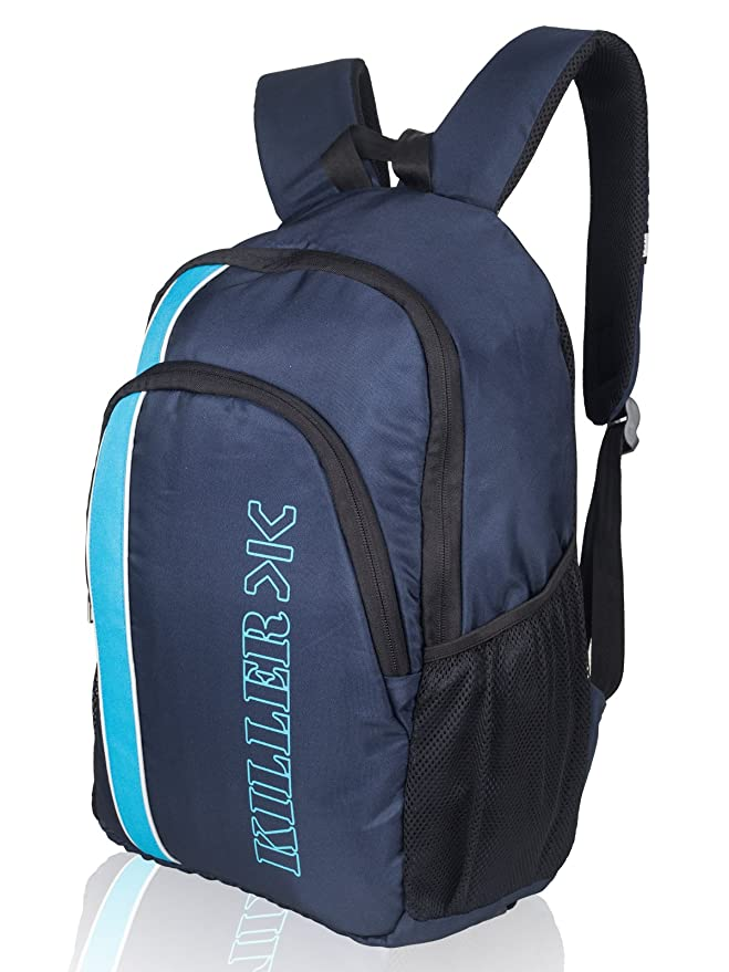 4040ed3b2 Killer Wallace 15.6 Inch Navy Blue Laptop Backpack: Amazon.in: Bags,  Wallets & Luggage