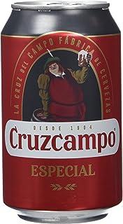 Cruzcampo Especial Cerveza - Caja de 24 Latas x 330 ml - Total: 7.92 L