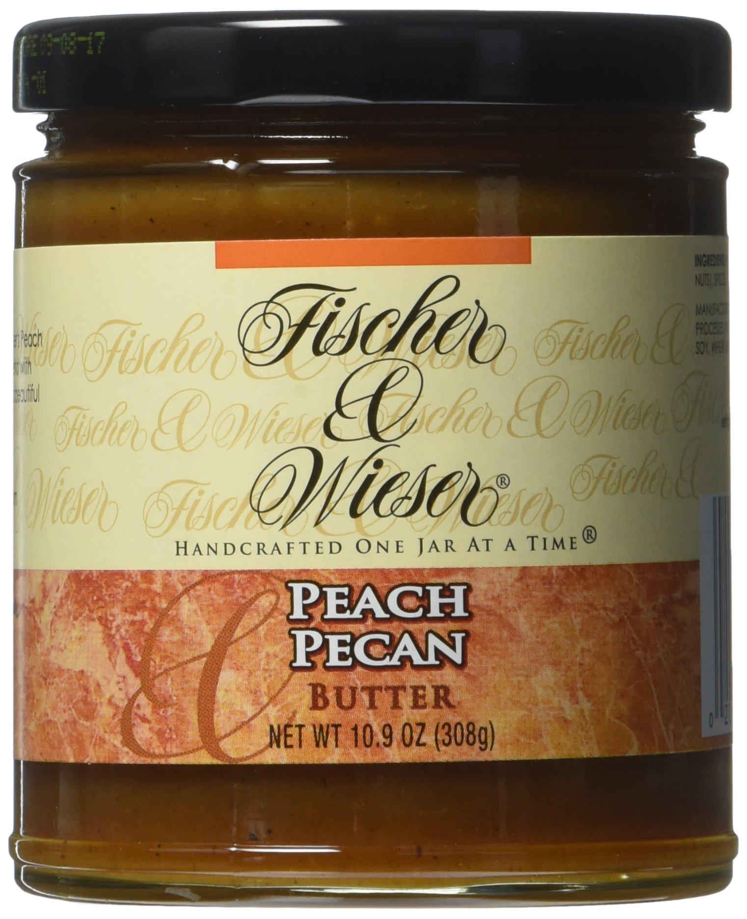 Fischer & Wieser Specialty Foods Butter, Peach Pecan, 10.9 Ounce
