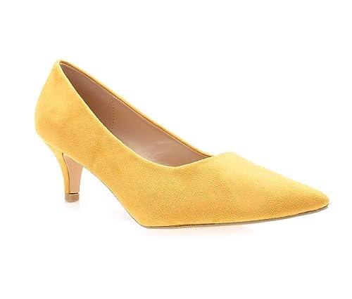 DoubleTree - Zapatos de Vestir de Sintético Mujer  Amazon.es  Zapatos y  complementos a8714b7344d7