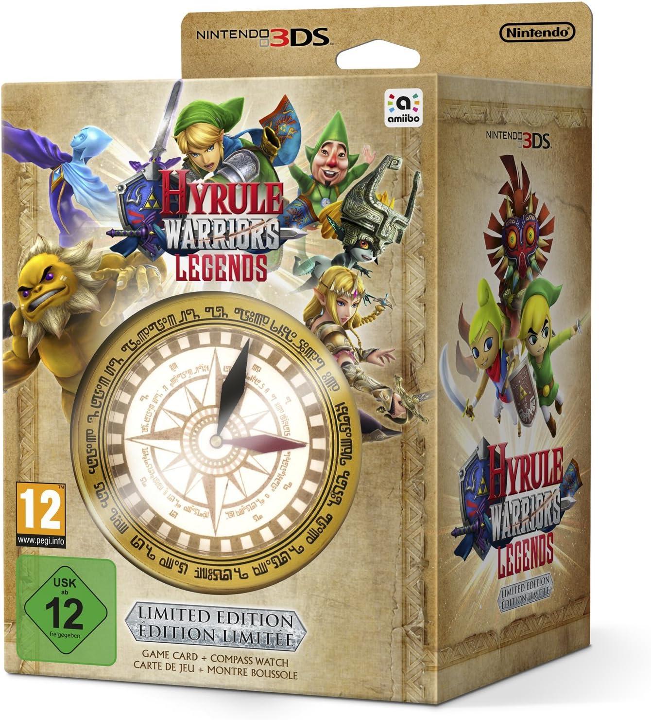 Hyrule Warriors Legends - Pack Limitado, Incluye Reloj / Brújula ...