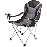 Picnic Time 803-00-130-000-0 Portable Reclining Camp Chair