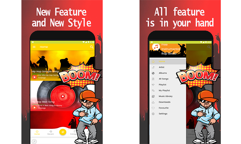 Free Instrumental Rap Beats: Amazon ca: Appstore for Android