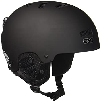 TSG Helm Arctic Kraken Solid Color - Casco de esquí, color negro, talla S