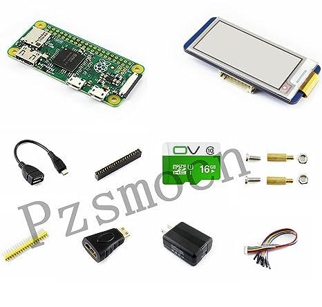 Amazon.com: Raspberry Pi Zero W Kit de desarrollo básico ...