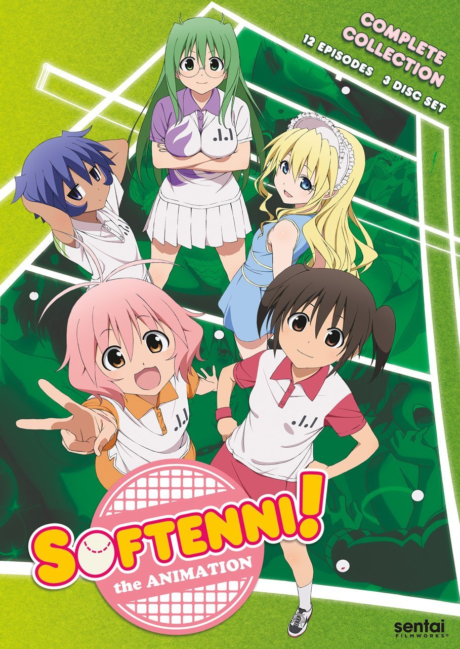 Softenni! the Animation DVD (Sub Only)