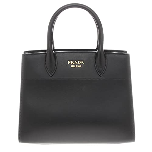 d6f7ebc0b08c Prada Women s Watersnake Trunk Tote Bag Black  Amazon.ca  Shoes   Handbags