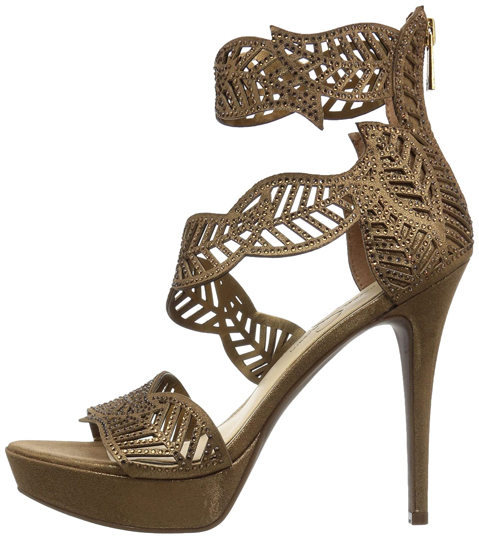 31ccf4e26036 Jessica Simpson Women s Bonilynn Heeled Sandal Bronze  Amazon.ca  Shoes    Handbags