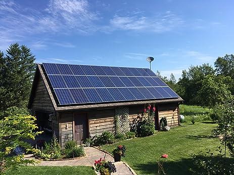 5000w 5kw solar panel kit gridtie and ground mount system watt diy