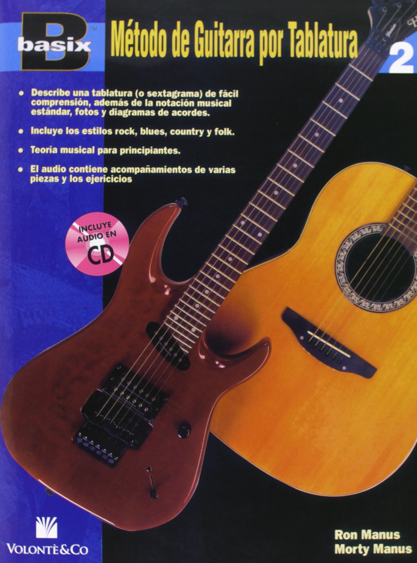 BASIX METODO GUITARRA 2 + CD: Amazon.es: Manus Ron/Manus Morty: Libros