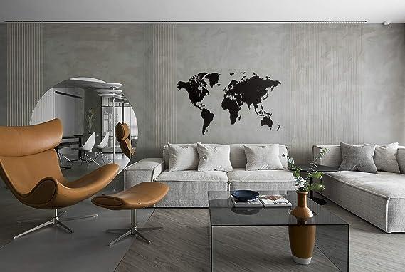 Liege Tableaux en liege dimension ca 200x105 cm 100/% autocollant Moderne A coller directement sur le mur Carte du Monde k-A-0111-u-a murando