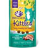 Wellness Kittles Crunchy Natural Grain Free Cat Treats, 2-Ounce Bag