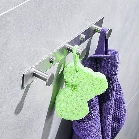 3 gancho Toalla para baño cocina dormitorio bata chaqueta ...