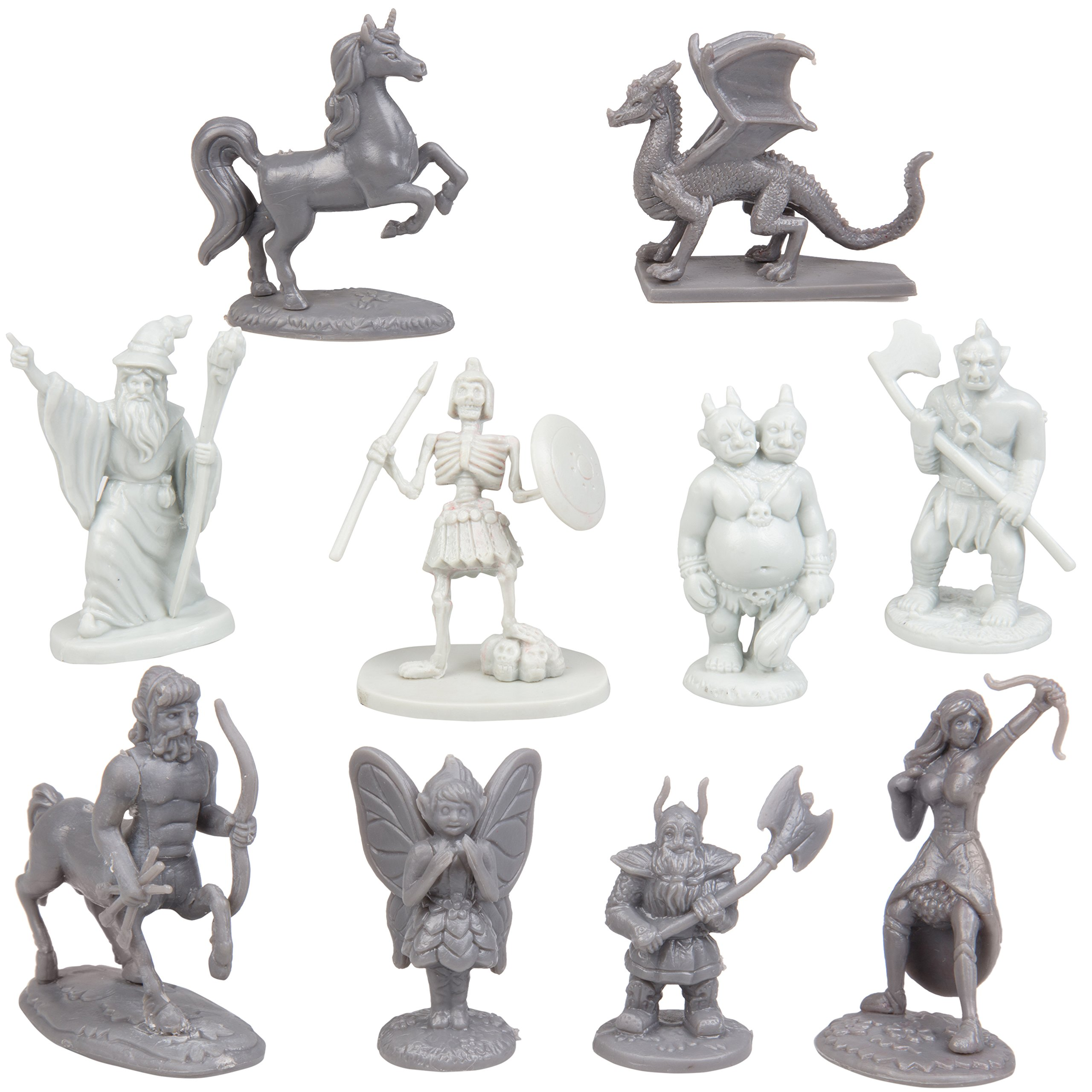 Scs Direct Fantasy Creatures Action Figure Playset 90pc Monster