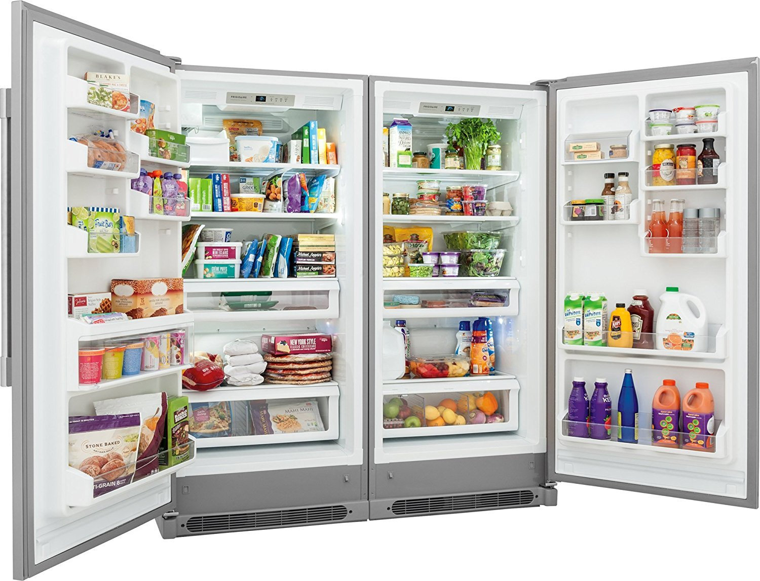 All Freezer Combo with Easy Care Stainless Frigidaire Professional Series Built-In All Refrigerator