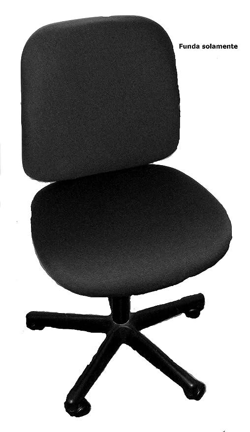 FUNDA para silla de oficina (FUNDA SOLAMENTE): 45x46cm asiento; 39-42cm