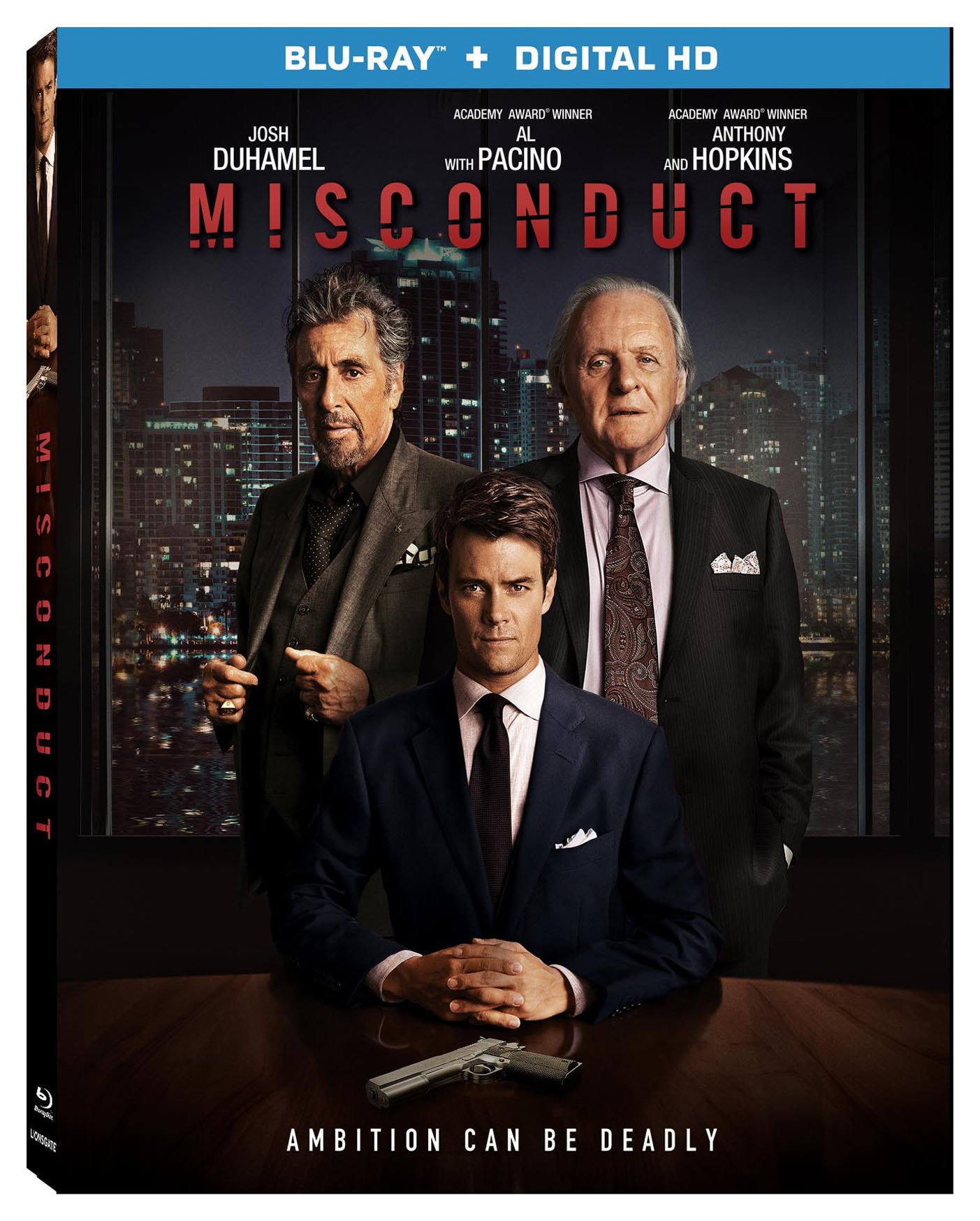 Blu-ray : Misconduct (2 Pack, 2 Disc)