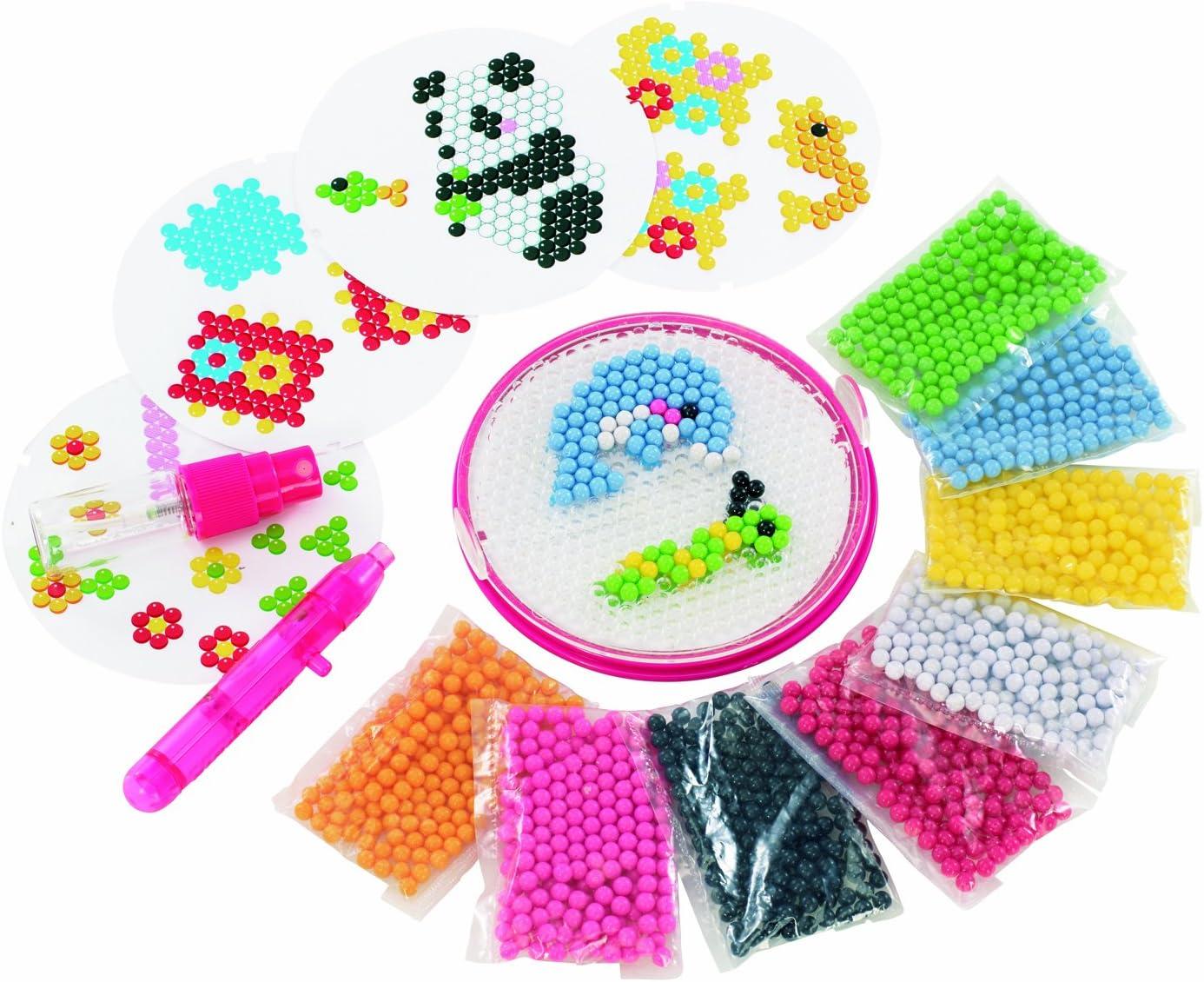 AQUA BEADS - Juego de Creatividad con Cuentas (para principantes): Amazon.es: Juguetes y juegos