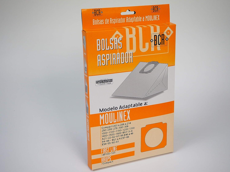Sanfor MO14 Bolsa Aspirador MOULINEX R-MO14 Caja 2 Unidades, Papel ...