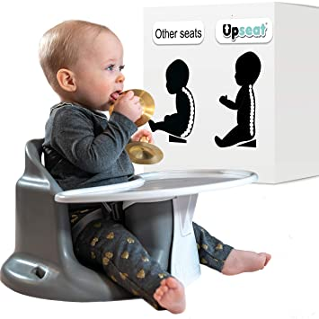 Amazon Com Upseat Baby Chair Booster Seat With Tray For Upright