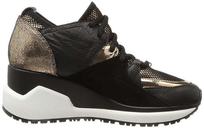 Liu Jo Anastacia nero scarpe sneakers donna nere stringate