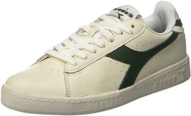 Diadora Game L Low Waxed, Chaussures de Gymnastique Homme, Blanc Cassé (Biancofogliame), 46 EU