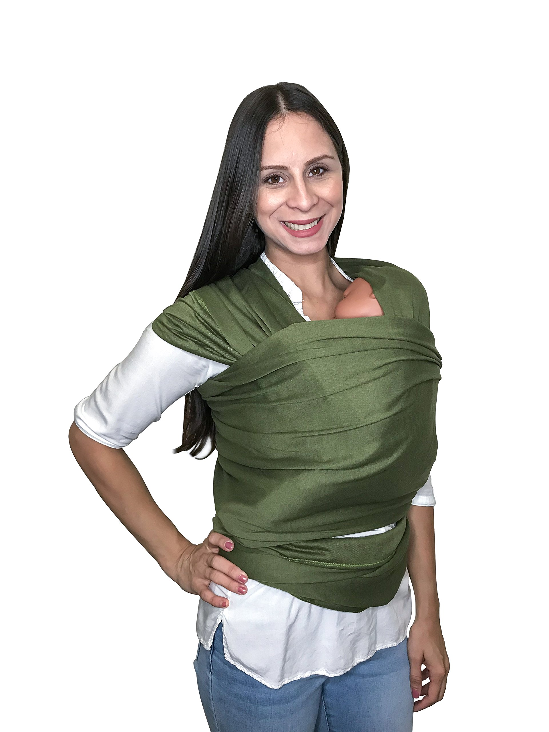 Baby Shower Gift Hands Free Baby Wrap Carrier Breathable Soft