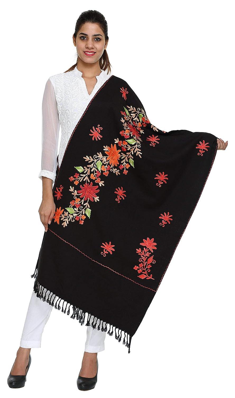 72f61d56fab Kashmiri Embroidery Indian Shawl Stole Scarf Wrap for Wedding ...