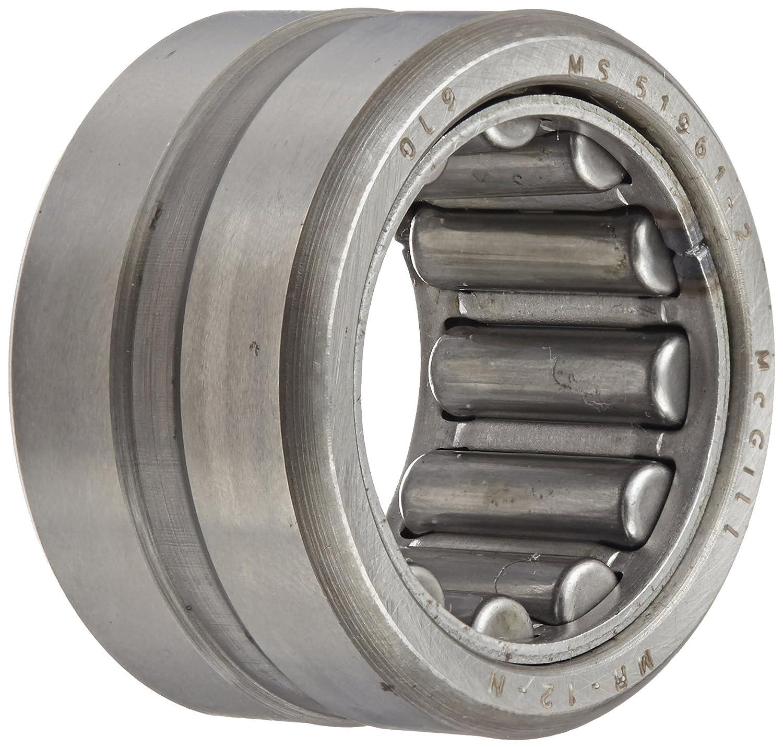 Inch 3//4 Width Narrow 1-1//4 OD 5400 lbs Static Load Capacity McGill MR12N CAGEROL Bearing 3//4 ID 4990 lbs Dynamic Load Capacity 3//4 ID 1-1//4 OD 3//4 Width Regal MCG-5451260000 Max RPM