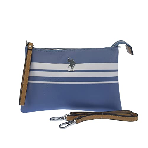 U.S.POLO ASSN. Bolsa de embrague con correa de hombro 26.5x3x17.5 cm: Amazon.es: Zapatos y complementos