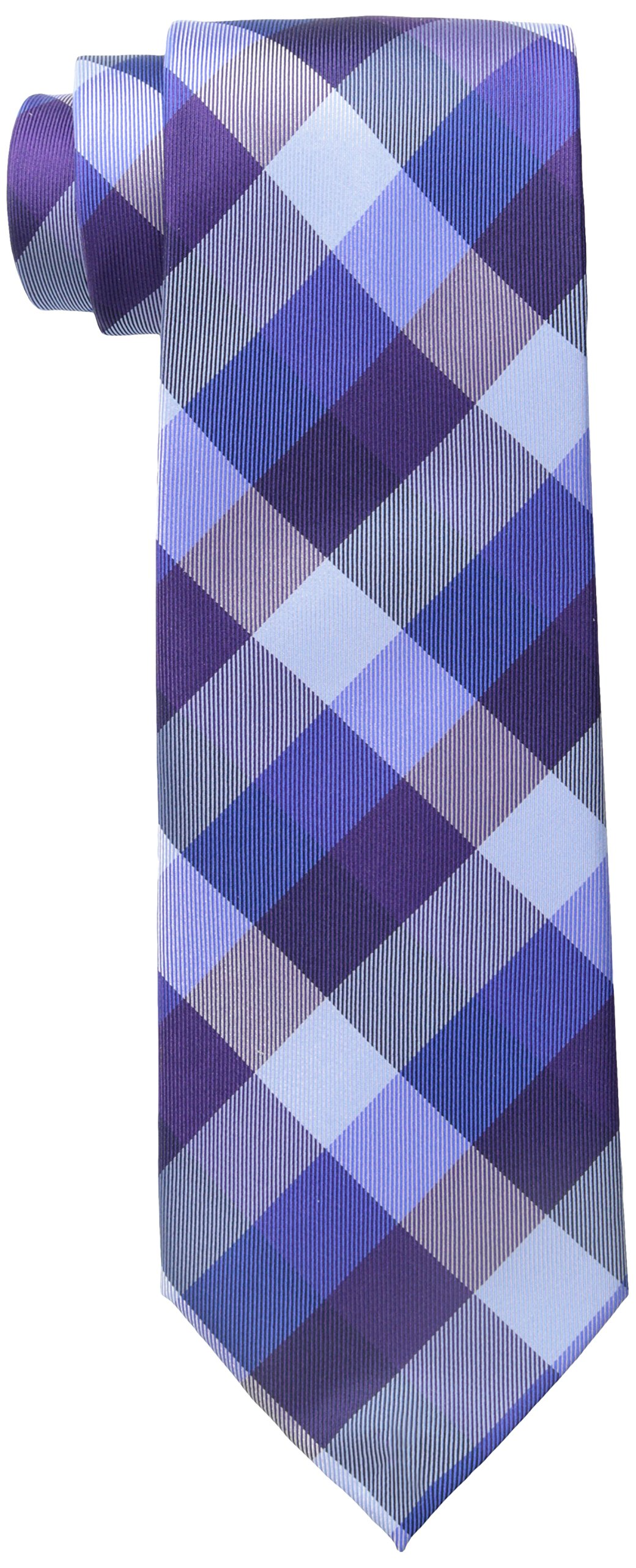 Tommy Hilfiger Men's Buffalo Tartan Tie, Purple, One Size